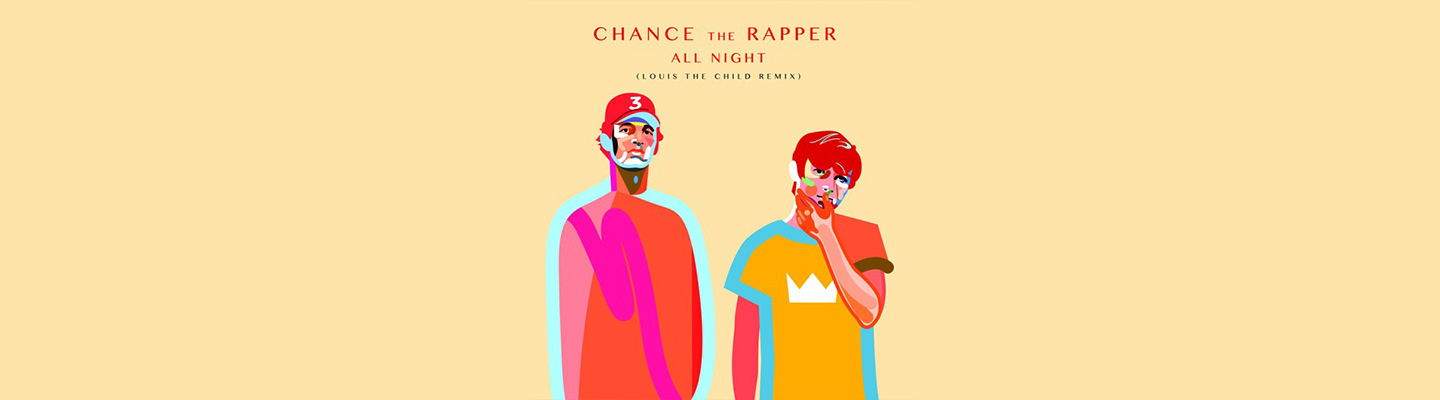 "PB & Good Jams - Louis The Child Graces Chance The Rapper's ""All Night"" With A Tasty! Remix"