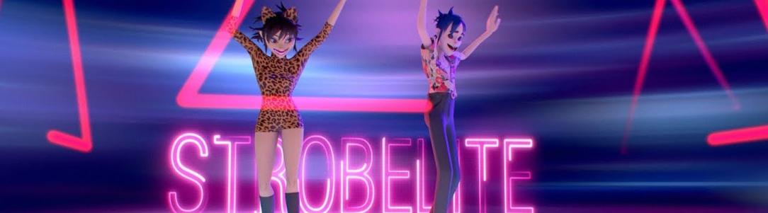 "PB & Good Jams - Gorillaz Light Up The Club In New ""Strobelite"" Music Video"