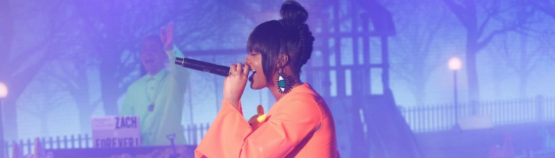 "Tierra Whack Goes In On New Song ""Gloria"" & Performs ""Only Child"" On ""Kimmel"""