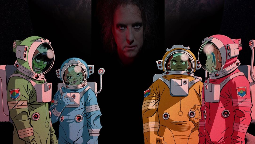 "Gorillaz Got The Cure's Robert Smith For Some ""Strange Timez"""